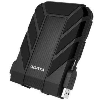 Твърд диск 4TB ADATA HD710P, (черен), външен, 2.5, USB3.1 image