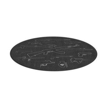 Постелка за под Genesis Tellur 300 Arsenal Of Gamer, 1 м., черна image