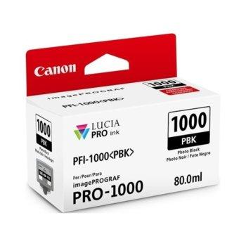 ГЛАВА ЗА Canon imagePROGRAF PRO-1000 - Photo Black - 0546C001AA P№ PFI-100 - 80ml image