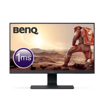 """Монитор BenQ GL2580HM (9H.LGGLA.TPE), 24.5"""" (62.23 cm) TN панел, 75Hz, Full HD, 1ms, 250cd/m2, HDMI, DVI, VGA  image"""