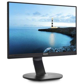 """Монитор Philips 241B7QUPBEB, 23.8"""" (60.45 cm) IPS панел, Full HD, 5ms, 20000000:1, 250 cd/m2, DisplayPort, HDMI VGA, USB-C image"""