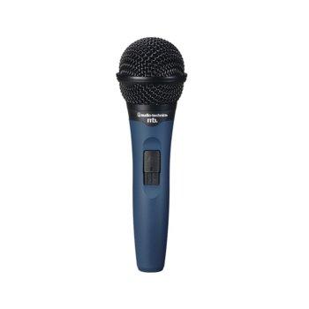 Микрофон Audio-Technica MB3k, вокален динамичен хиперкардиоиден, 60-14kHz, 600 ohms, 3-pin XLRM-type конектор, син image