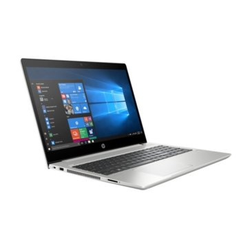 "Лаптоп HP ProBook 450 G6 (6BN80EA)(сив), четириядрен Whiskey Lake Intel Core i5-8265U 1.6/3.9 GHz, 15.6"" (39.62 cm) Full HD IPS Display, (HDMI), 8GB DDR4, 256GB SSD, 1x USB 3.1 Type-C™, Free DOS image"