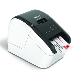 Етикетен принтер Brother QL-800, директен термопечат, макс. ширина на етикета 62mm, AirPrint, Wi-Fi Direct, USB image