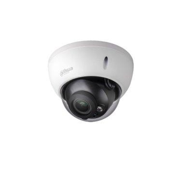 IP камера Dahua IPC-HDBW5221EP-Z, куполна, 2 Mpix(1920x1080@25FPS), 2.8mm~12mm моторизиран обектив, H.264/ H.264H/ H.264B/ MJPEG, IR осветеност (до 20 метра), външна вандалоустойчива IK10, IP67 защита, PoE, RJ-45, image