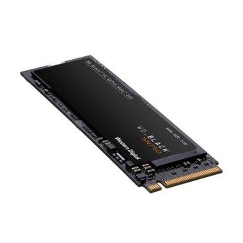 Памет SSD 500GB, WD Black SN750, PCIe Gen3 8 Gb/s, M.2, скорост на четене 3470MB/s, скорост на запис 2600MB/s, image