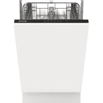 Съдомиялна за вграждане Gorenje GV52040, клас E, 9 комплекта, 5 програми, 4 температури, отложен старт 3/6/9, UseLogic технология, бяла image