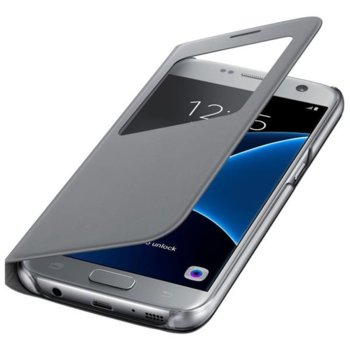 "SViewCover Samsung G930 за Galaxy S7, 5.1"" (12.95 cm), сив image"