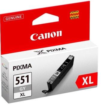 ГЛАВА CANON PIXMA MX725/MG5650/iP8750/iX6850 - Grey ink tank - CLI-551XLGY - P№ 6447B001 - заб.: 3300p image