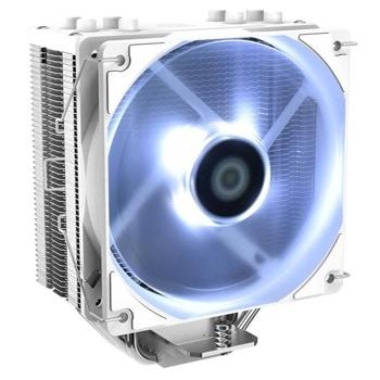 Охлаждане за процесор ID-Cooling SE-224-XT-WH, съвместимост със сокети Intel LGA 1200/115X/2066/2011 & AMD AM4 image