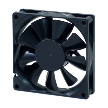 Вентилатор 80мм, EverCool EC8020M12EA, EL Bearing, 3 Pin Molex, 2500rpm image