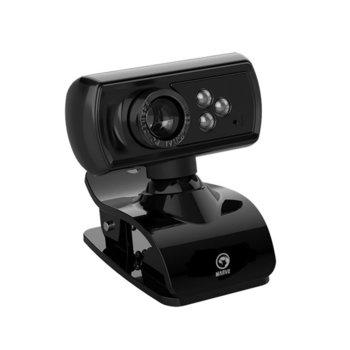 Уеб камера Marvo MPC01, микрофон, Full HD, USB, черна image