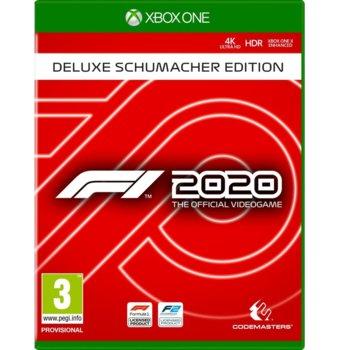 Игра за конзола F1 2020 Deluxe - Schumacher Edition, за Xbox One image