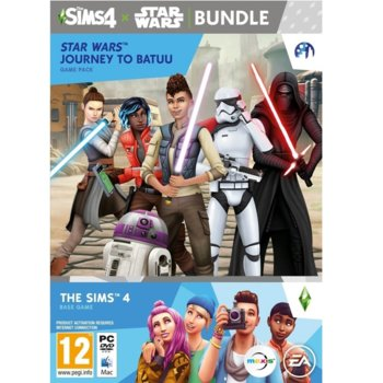 Игра The Sims 4 + Star Wars - Journey to Batuu Expansion Pack Bundle, за PC image