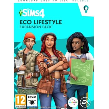 The Sims 4 Eco Lifestyle PC product