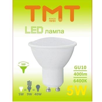 LED крушка Tmt, GU10, 5W, 400 lm, 6400k image