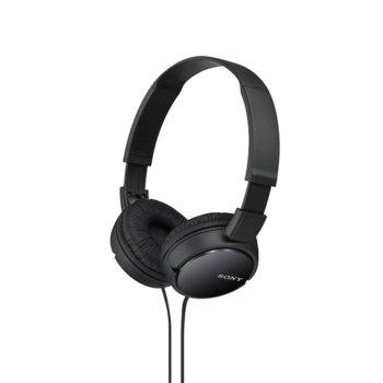 Слушалки Sony MDR-ZX110AP, черни image