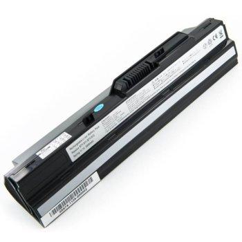 Батерия (заместител) за лаптоп MSI Wind, съвместима с U90/U100/BTY-S11/BTY-S12, 11.1V, 7800mAh image