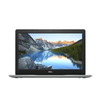 "Лаптоп Dell Inspiron 3583 (5397184372920)(сребрист), двуядрен Whiskey Lake Intel Pentium 5405U 2.30 GHz, 15.6"" (39.62 cm) HD Anti-Glare Display, (HDMI), 4GB DDR4, 1TB HDD, 2x USB 3.1, Linux  image"