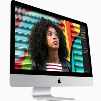 "All in One компютър Apple iMac (Z0TH00046/BG), двуядрен Intel Kaby Lake Core i5-7360U 2.3GHz/3.6GHz, 21.5"" (54.61 cm) Full HD LED Display, 8GB DDR4 RAM, 1TB, 4x USB 3.0, клавиатура и мишка, macOS Sierra image"