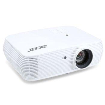 Проектор Acer P5530, DLP, Full HD (1920x1080), 20 000:1, 4000 lm, 2x HDMI, 2x VGA, 1x USB A, RJ-45, RS-232 image