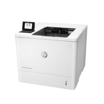 Лазерен принтер HP LaserJet Enterprise M607n, монохромен, 1200 x 1200 dpi, 52 стр/мин, LAN1000, A4 image