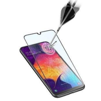 Протектор от закалено стъкло /Tempered Glass/, Cellularline, за Samsung Galaxy A50, черен image
