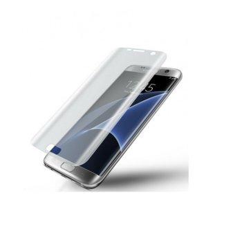 Протектор от закалено стъкло /Tempered Glass/ Samsung за Galaxy S7 Edge G935 FullFace image