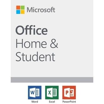 Софтуер Microsoft Office Home and Student 2019, 1 потребител, английски, за Windows и macOS image