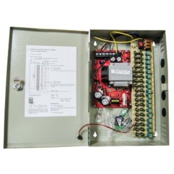 Захранващ блок, 12V/16.5A, 18 изхода със защита image