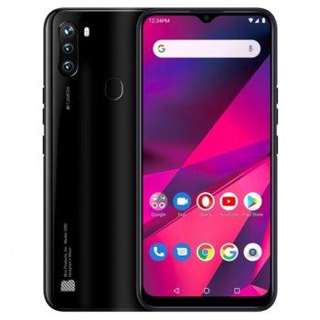 "Смартфон BLU G90 (черен), поддържа 2 sim карти, 6.5"" (16.51 cm) IPS дисплей, осемядрен MediaTek Helio A25 1.8GHz, 4GB RAM, 64GB Flash памет (+microSD слот), 16.0 + 8.0 + 2.0 & 13.0 MPix камера, Android, 185g image"