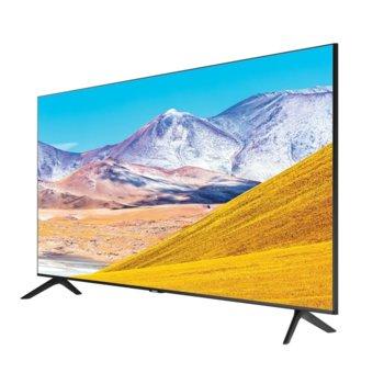 "Телевизор Samsung UE55TU8072UXXH, 55"" (138 cm) 4K Ultra HD Smart TV, DVB-T2CS2, Wi-Fi, LAN, Bluetooth, 3x HDMI, 2x USB, енергиен клас G image"