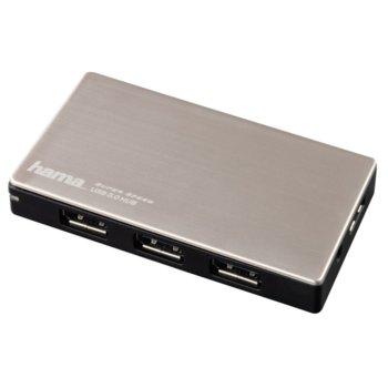 USB Хъб 4x USB3.0, HAMA (54544) image
