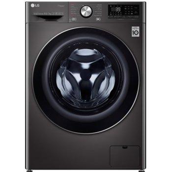 Пералня със сушилня LG F4DV910H2S, клас A, 10.5 кг. капацитет на пералня / 7 кг. на сушилня, 1400 оборота, 14 програми, TrueSteam, TurboWash, 60 cm, черна image