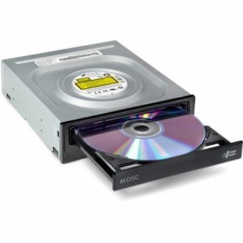 Оптично устройство LG Hitachi GH24NSSD5 , вътрешна, SATA, DVD±RW, черно image