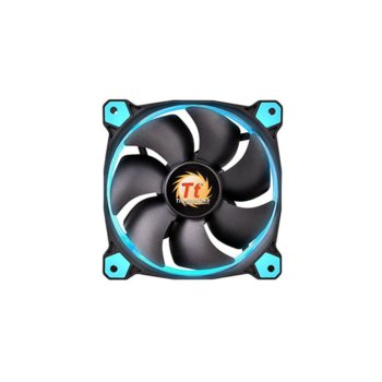 Вентилатор 120mm, Thermaltake Riing 12 LED Blue, 1500rpm image