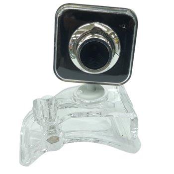 Уеб камера Square 08040103, микрофон, 6 led светлини, автоматичен баланс на бялото, автоматична корекция на цветовете, USB image