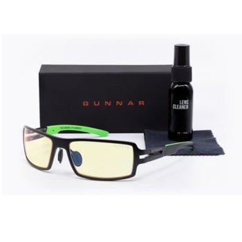 Комплект Gunnar RPG Onyx Case Promo Pack, очила/калъф/почистващ спрей, гейминг, черни image