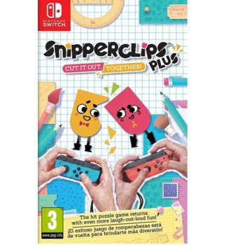 Snipper Clips Plus: Cut it out Together! product