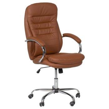 Дирекорски стол Carmen 6113, оранжев image
