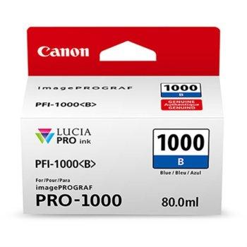 ГЛАВА ЗА Canon imagePROGRAF PRO-1000 - Blue - 0555C001AA P№ PFI-1000 - 80ml image