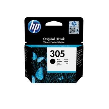 Глава за HP DeskJet All in One Printers, Black, 3YM61AE - HP 305 Original Ink Cartridge, 120 yield image