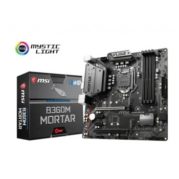 MSI B360M MORTAR product