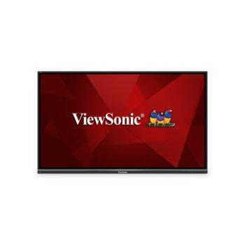 """Публичен дисплей ViewSonic IFP8650-2, тъч дисплей, 85.6"""" (217.4 cm) Ultra HD, HDMI, VGA, USB, RS232, RJ-45 image"""