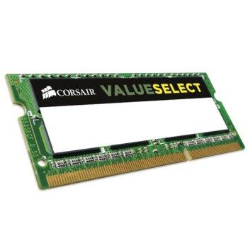 Памет 16GB (2X8GB) DDR3L 1600MHz, SO-DIMM, Corsair CMSO16GX3M2C1600C11, 1.35V image