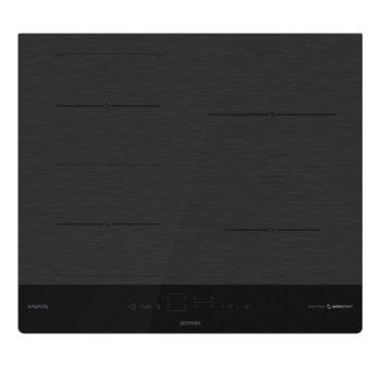 Индукционен плот Gorenje IT643SYB, 4 нагревателни зони, сензорно управление, AutoDetect функция, PowerBoost функция, черен image
