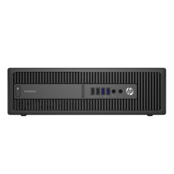 Настолен компютър HP EliteDesk 800 G2 SFF (V1F81EP), двуядрен Skylake Intel Core i3-6100 3.7GHz, 4GB DDR4, 500GB, 8x USB 3.0, Windows 8 Pro image
