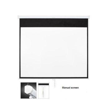 Екран OMB SF115MMV, за стена, Matte White, 235 x 176, 4:3 image
