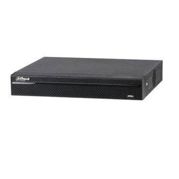 Хибриден видеорекордер Dahua XVR4116HS-S2, 16 канален, H.264, 1x SATA(до 8TB), 2x USB 2.0, 1x LAN10/100, 1x HDMI, 1x VGA, 1x RS485 image