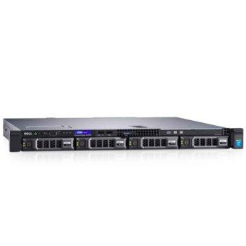 Сървър Dell PowerEdge R230 (#DELL02458), двуядрен Skylake Intel Core i3 6100 3.7GHz, 8GB DDR4 UDIMM, 1TB HDD, 2x 1GbE LOM, 3x USB 3.0, без ОС, 250W PSU image